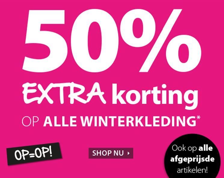 SALE - 50% extra korting @ terStal