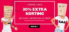 SALE: 30% extra korting @ Coolcat (min 4 items)