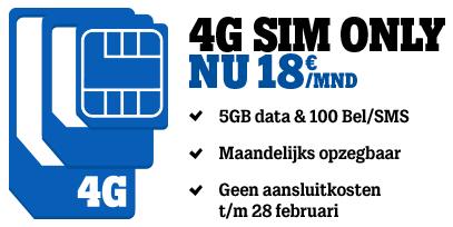 Hogere internetbundels Tele2 + geen aansluitkosten