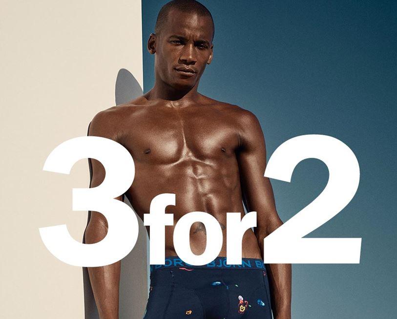Ondergoed: 3 halen 2 betalen @ Björn Borg