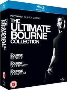 The Ultimate Bourne Collection (Blu-ray) voor € 10,15 @ Zavvi