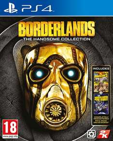 Borderlands: The Handsome Collection (PS4/Xbox One) voor €13,51 @ 2K Shop