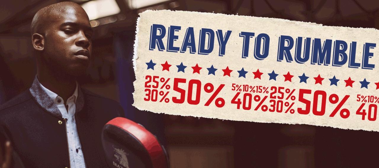 Tot 50% korting op herenmode Bij Bos Men Shop (merken: Gaastra, McGregor, Gant etc)