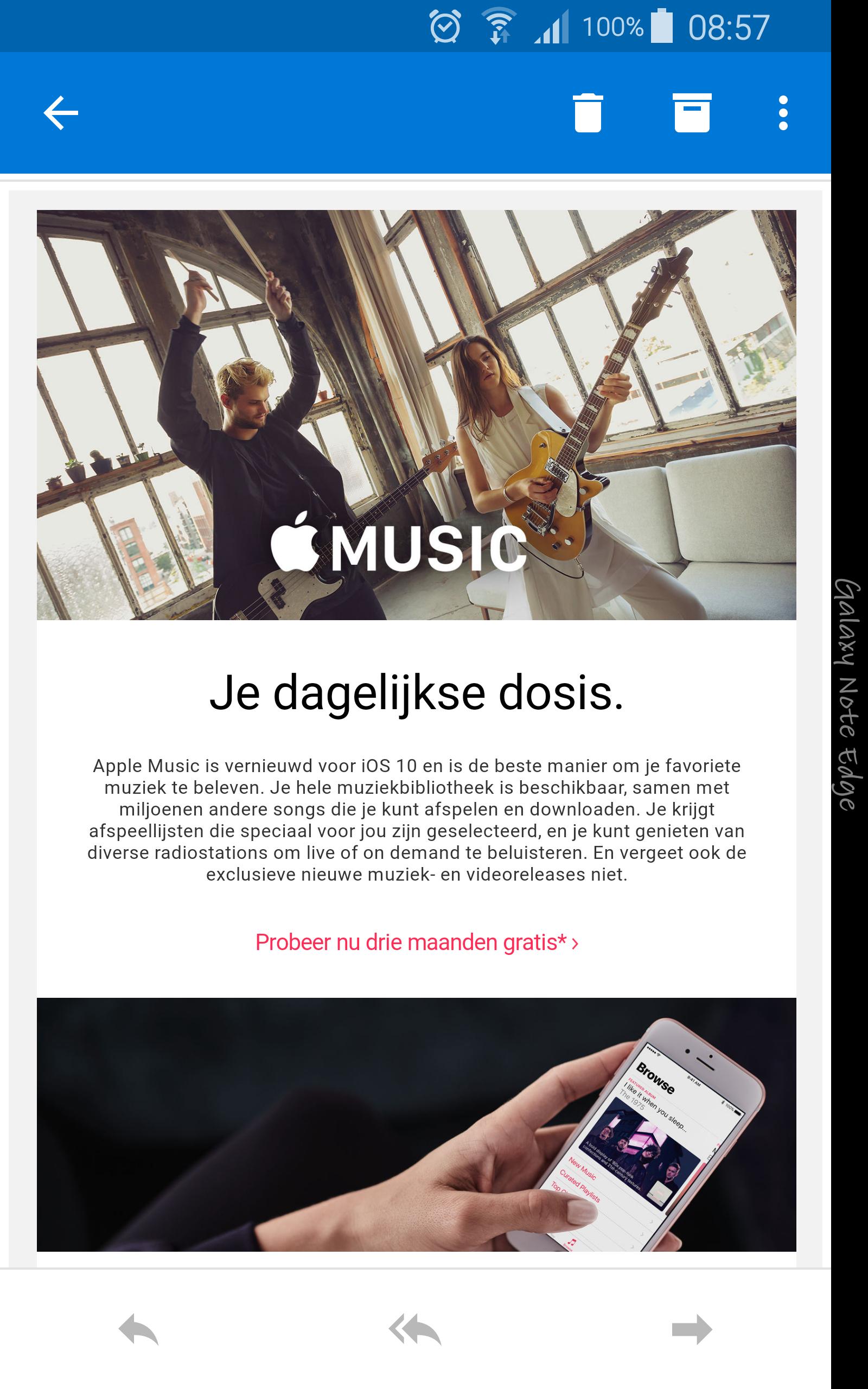 Gratis 3 maanden @Apple Music