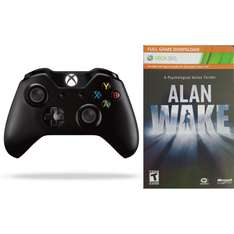 Xbox One Wireless Controller + Alan Wake voor €42 @ Game Deal Daily