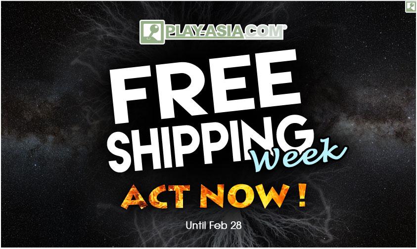 Tijdelijk gratis verzending bij orders vanaf $10 @ Play-Asia