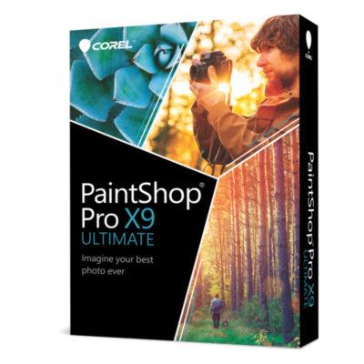PaintShop Pro X9 Ultimate voor maar € 12,99 @ Corel