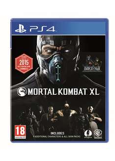 [UPDATE: MU €17,96] Mortal Kombat XL (PS4 / Xbox One) voor €18,34 @ Base.com
