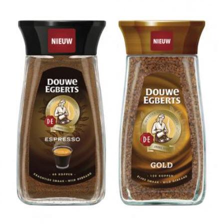 50% korting op Douwe Egberts koffie, Gold of Espresso @ Trekpleister