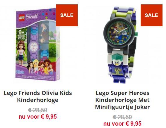 Lego horloges - Friends Olivia / Joker - €9,95 @ Telekids Toys (ex €3,95 verzending)