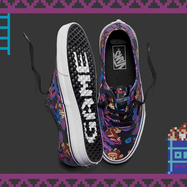 Vans Nintendo sneakers voor €29,99 (+ €3,95) (tot maat 40) @ Sneakerbaas