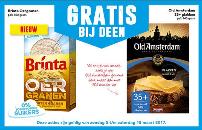 Gratis Old Amsterdam en/of Brinta oergranen @ Deen
