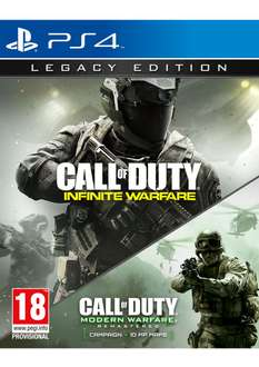 Call of Duty Infinite Warfare - Legacy Edition (PS4) voor €35,15 @ Simplygames