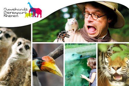Entree Ouwehands dierenpark Rhenen voor €11,95 @ Social Deal