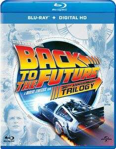 In de categorie nostalgie: Back to the Future trilogy (blu-ray)