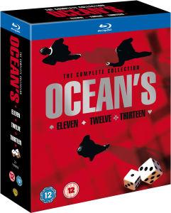 Oceans Trilogie (Blu-Ray) voor €9,05 @ Zavvi