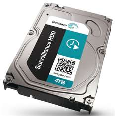 Seagate Surveillance HDD + Rescue, 3TB (3000 GB!) 34% korting