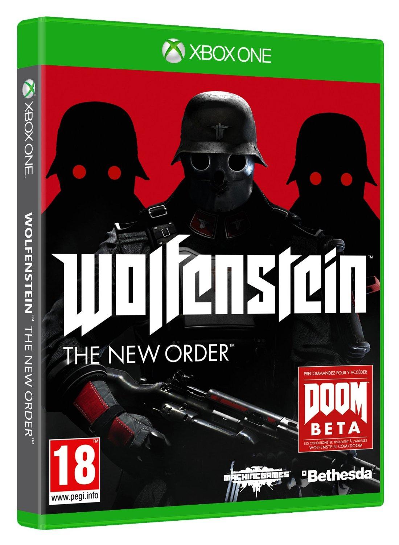 Xbox One met Kinect en Wolfenstein: The New Order voor € 463,79 @ Amazon.fr