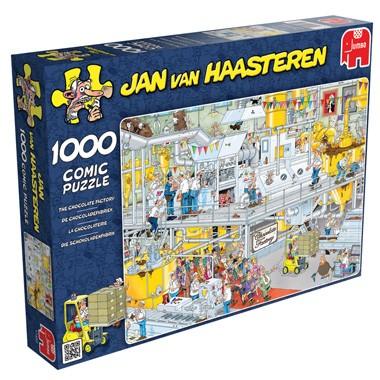 Jan van Haasteren - Chocoladefabriek (1000 stukjes) voor €6,98 @ Intertoys