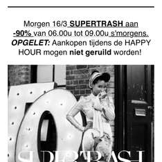 Happy Hour bij Maison Lab 90% korting SuperTrash