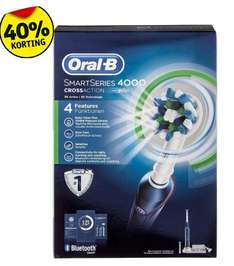 Oral-B SmartSeries 4000 CrossAction Elektrische Tandenborstel @ Kruidvat