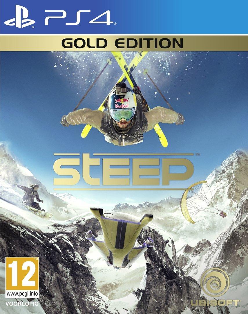 Steep Gold Edition (PS4) voor €44,79 (€35,83 met 20% kortingscode) @ Ubisoft Store