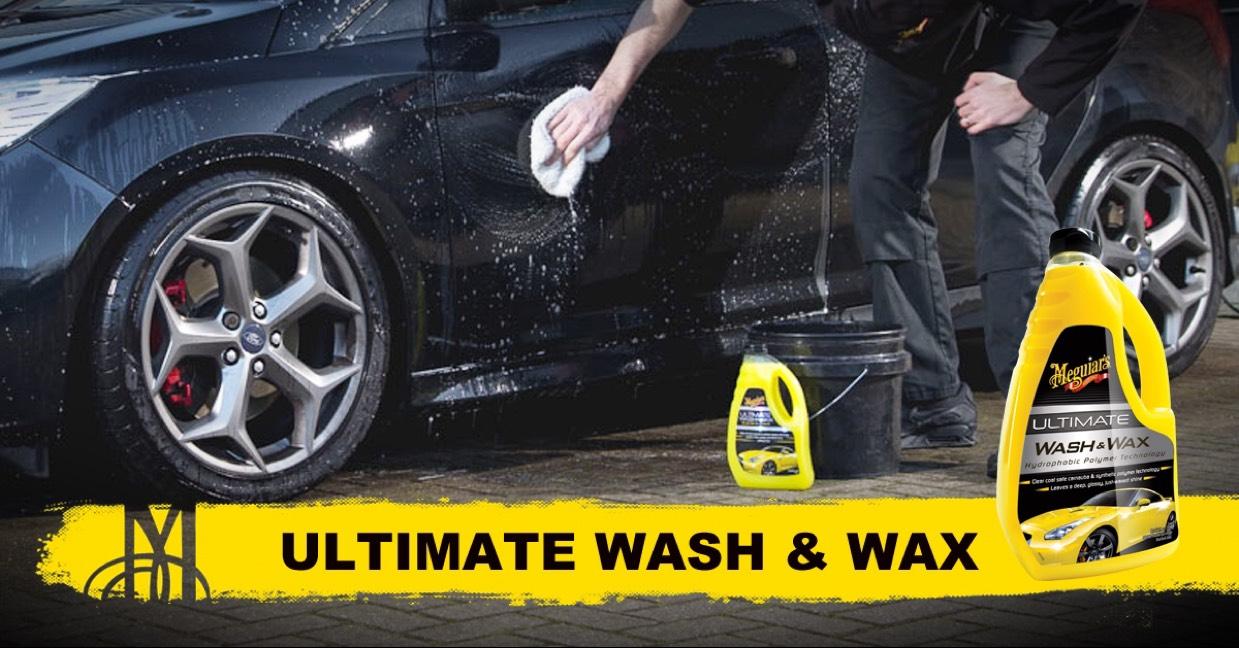 Vraag nu tijdelijk een gratis ultimate wash & wax sample aan
