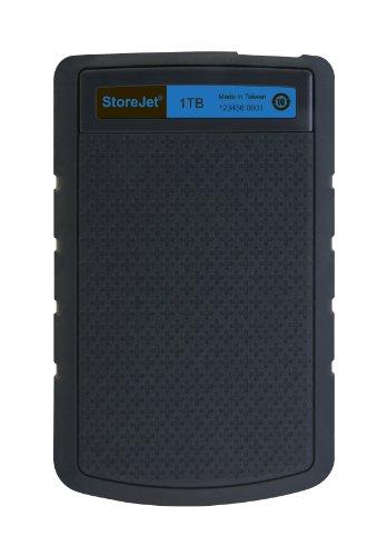 Transcend StoreJet H3B externe harde schijf - 1TB voor €55,90, 2TB voor €91,50 @ Amazon.de