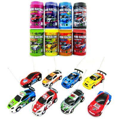 1 : 63 Coke Can Mini RC Radio Remote Control Micro Racing Car € 3.46 @ Yoshop.com
