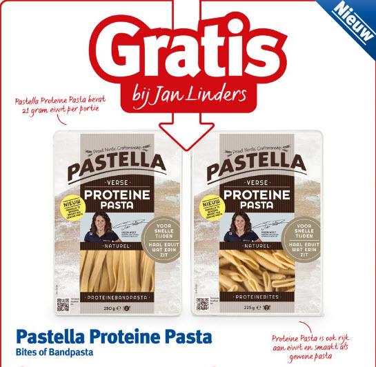 Gratis Pastella Proteine Pasta @ Jan Linders