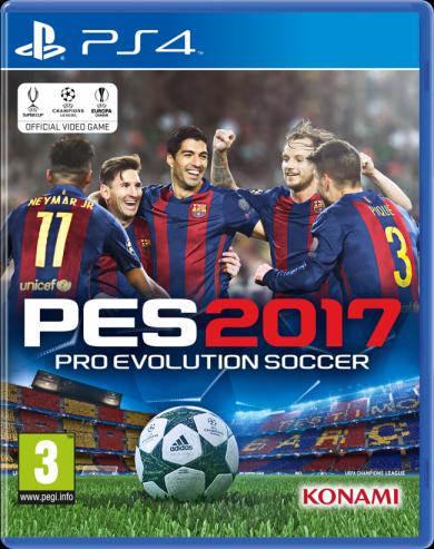 Pro Evolution Soccer 2017 [Playstation Store] voor €9,99
