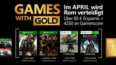 Games With Gold voor April @ Xbox Store
