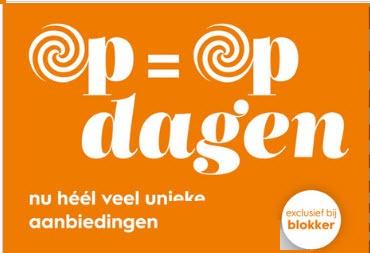 Op = Op dagen @ Blokker
