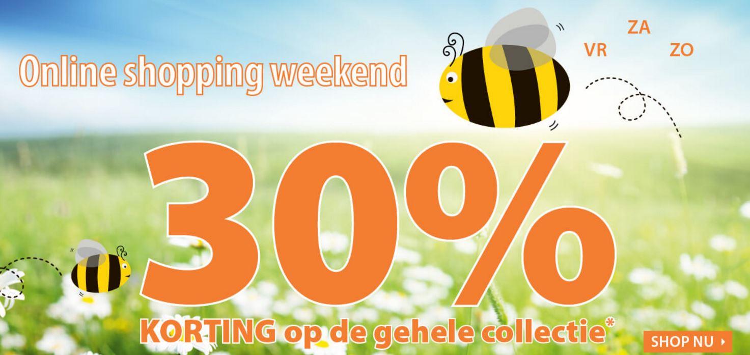 Dit weekend 30% korting op totale collectie @ Terstal