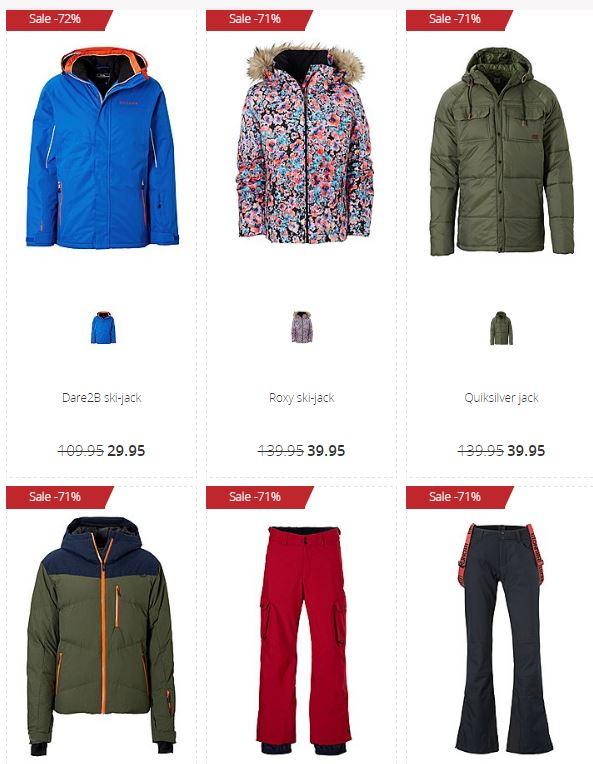 Wintersportkleding met hoge korting (tot -79%) @ Wehkamp