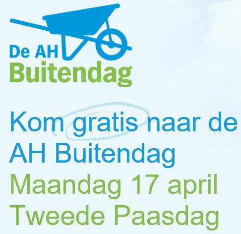 Gratis naar de Albert Heijn Buitendag op 2e paasdag, 17 april