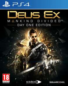 Deus Ex: Mankind Divided - Day One Edition (PS4) voor €13,50  @ YourGameZone