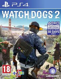 Watch Dogs 2 (PS4) voor €24,99 @ Coolshop