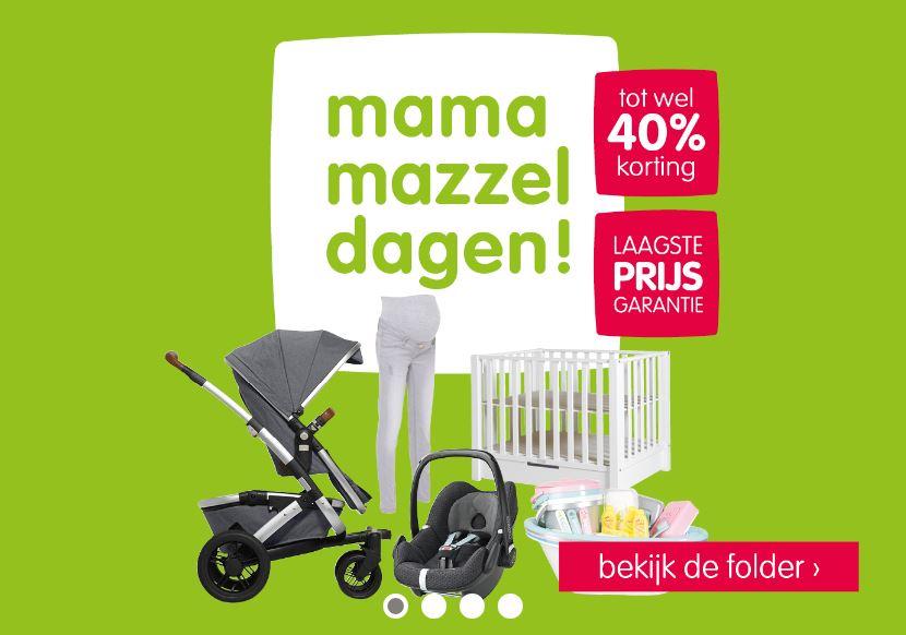 Mama Mazzeldagen met tot 40% korting @ Prénatal