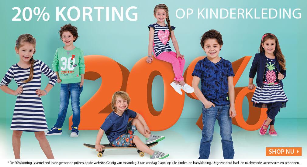 20% Korting op kinderkleding @ Terstal