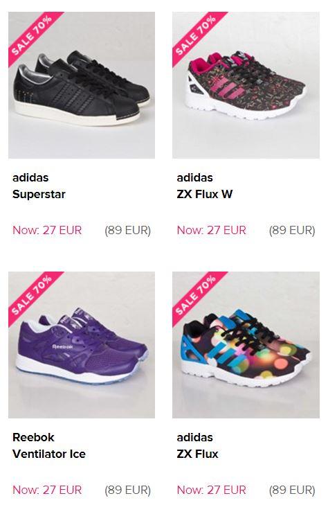 Veel sneakers 70% korting - oa Nike / Adidas / Converse @ Sneakersnstuff