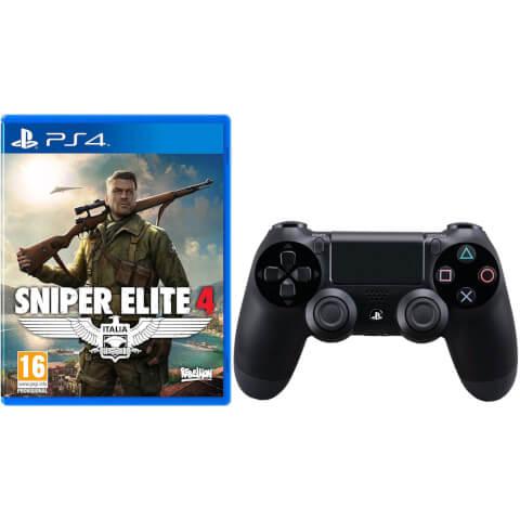 Sniper Elite 4 PS4 + Dualshock 4 Controller voor €76,96 @ Zavvi