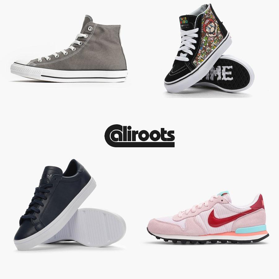 Sneaker SALE: heel veel 60% korting @ Caliroots