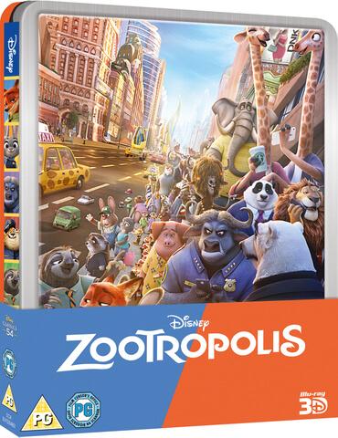 Disney Steelbook Blu-Ray's in de aanbieding (€9,45 - €16,55) bij Zavvi.nl