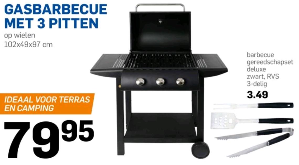 Gasbarbecue vanaf woensdag voor €79,95 @ Action
