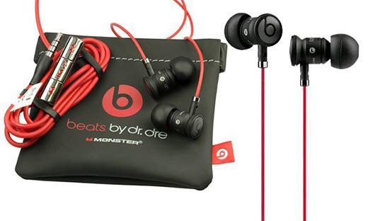 Beats by Dr. Dre urBeats (zwart) voor €49,90 @ Koopjedeal