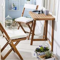 A.s. woe 26-04: Houten tuinset incl kussens €56,69 @ Xenos
