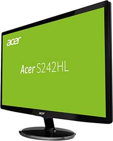 Acer S242HLDbid (24 Inch, LED, Full-HD, 1 ms, HDMI) Monitor voor €119 @ Amazon.de