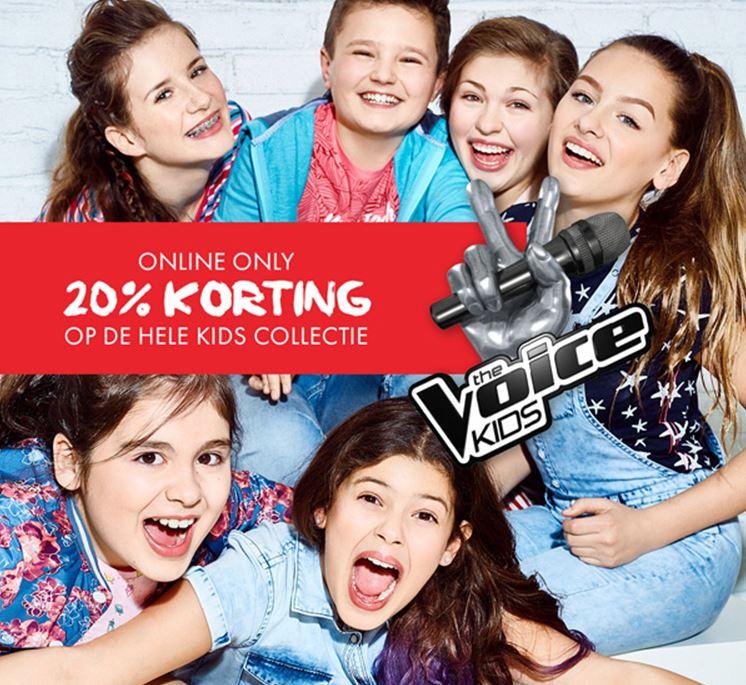 20% Korting op Kids collectie + gratis rugzak (va €60) @ We Fashion
