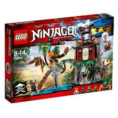 LEGO Ninjago Tiger Widow eiland 70604 @ Intertoys
